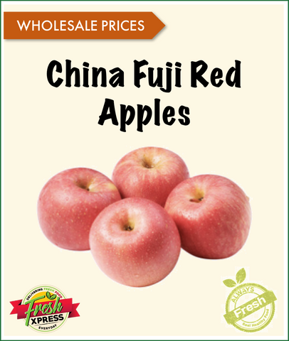 China Fuji Red Apples (Per Carton)