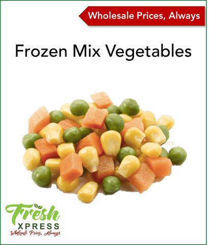 Frozen Mixed Vegetables (Per 10kg)