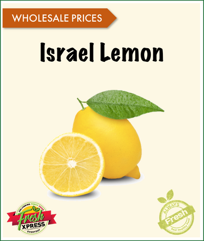 Israel Yellow Lemon (Per Carton)