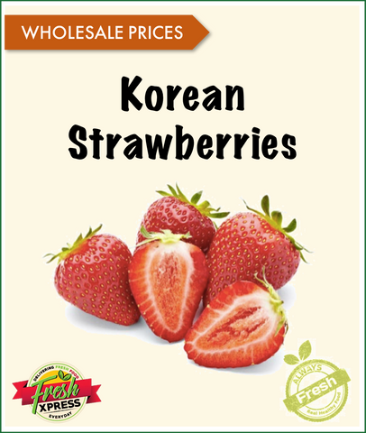 Korean Strawberries (Per Carton)