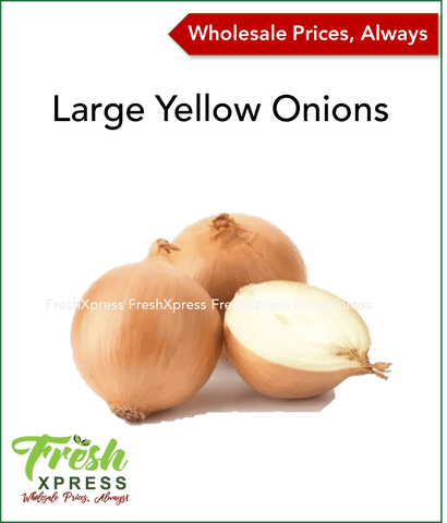 Large Yellow Onions (Per 15Kg)