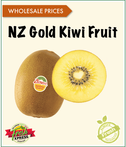 NZ Gold Kiwi Fruit XXL Zepri (Per Carton)