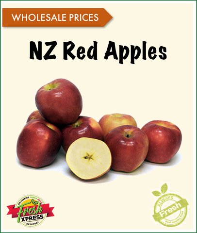 NZ Red Apples Beauty (Per Carton)