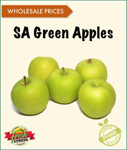 South African Green Apples (Per Carton)
