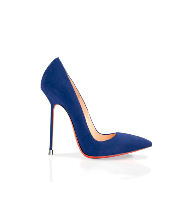 Akhira Navy Blue Suede · Charlotte Luxury Shoes · Luxury High Heel Pumps · Di Marni · Custom made · Made to measure · Luxury Pumps High Heel Shoes · Stiletto
