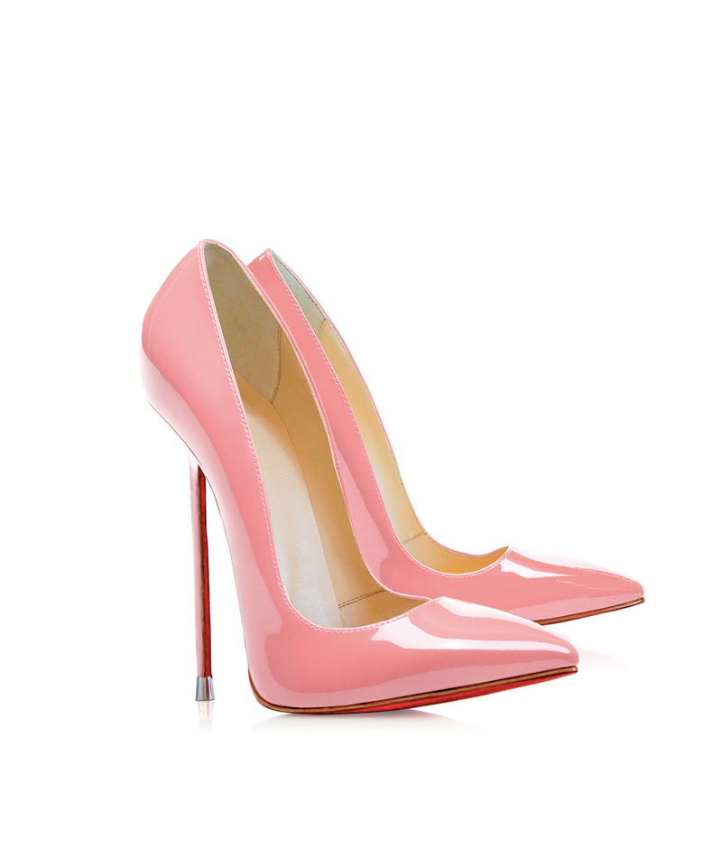 Akhira Pink Patent  · Charlotte Luxury Shoes · Luxury High Heel Pumps · Di Marni · Custom made · Made to measure · Black Luxury Pumps High Heel Shoes · Stiletto Shoes