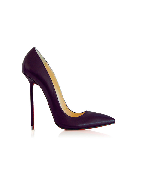 Akhira Purple  · Charlotte Luxury Shoes · Luxury High Heel Pumps · Di Marni · Custom made · Made to measure · Black Luxury Pumps High Heel Shoes · Stiletto Shoes