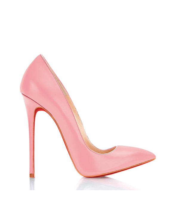 Dakhuva Pink - Charlotte Luxury Shoes - Luxury High Heel Pumps - Di Marni - Custom made - Made to measure - Nude Luxury Pumps High Heel Shoes - Stiletto Shoes