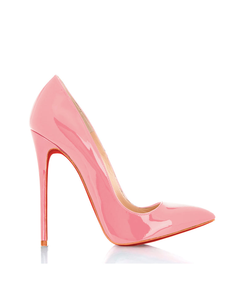 Dakhuva Pink Patent  · Charlotte Luxury Shoes · Luxury High Heel Pumps · Di Marni · Custom made · Made to measure · Luxury Pumps High Heel Shoes · Stiletto Shoes