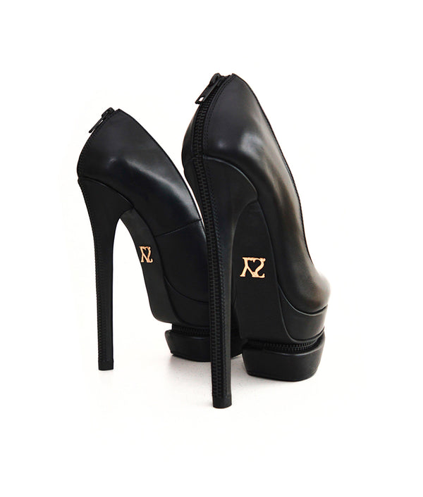Demon Black · Charlotte Luxury Shoes · Luxury High Heel Platform Shoes · Yarose Shulzhenko · Custom Made · Made to measure · Luxury High Heel Shoes · Shoes