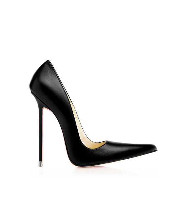 Manx Black · Charlotte Luxury Shoes · Luxury High Heel Pointy · Di Marni · Custom made · Made to measure · Black Luxury Pointy High Heel Shoes · Shoes