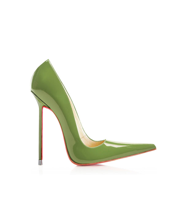 Manx Green Patent · Charlotte Luxury Shoes · Luxury High Heel Pointy · Di Marni · Custom made · Made to measure · Black Luxury Pointy High Heel Shoes · Stiletto Shoes