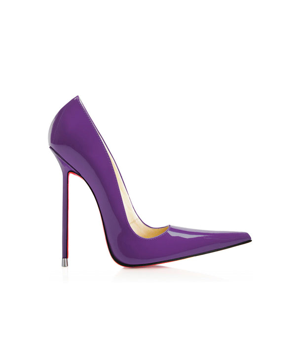 Manx Purple Patent · Charlotte Luxury Shoes · Luxury High Heel Pointy · Di Marni · Custom made · Made to measure · Black Luxury Pointy High Heel Shoes · Stiletto Shoes