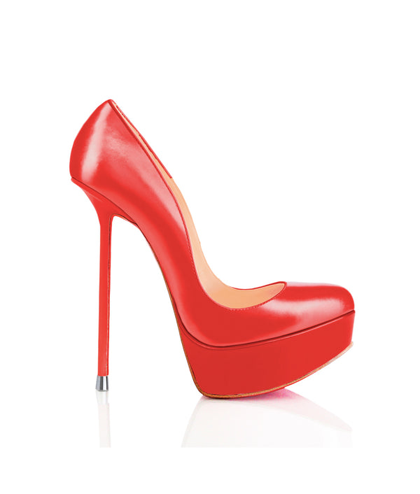 Oxia Red · Charlotte Luxury Shoes · Luxury High Heel Platform Shoes · Di Marni · Custom Made · Made to measure · Luxury Platform High Heel Shoes · Luxury Shoes