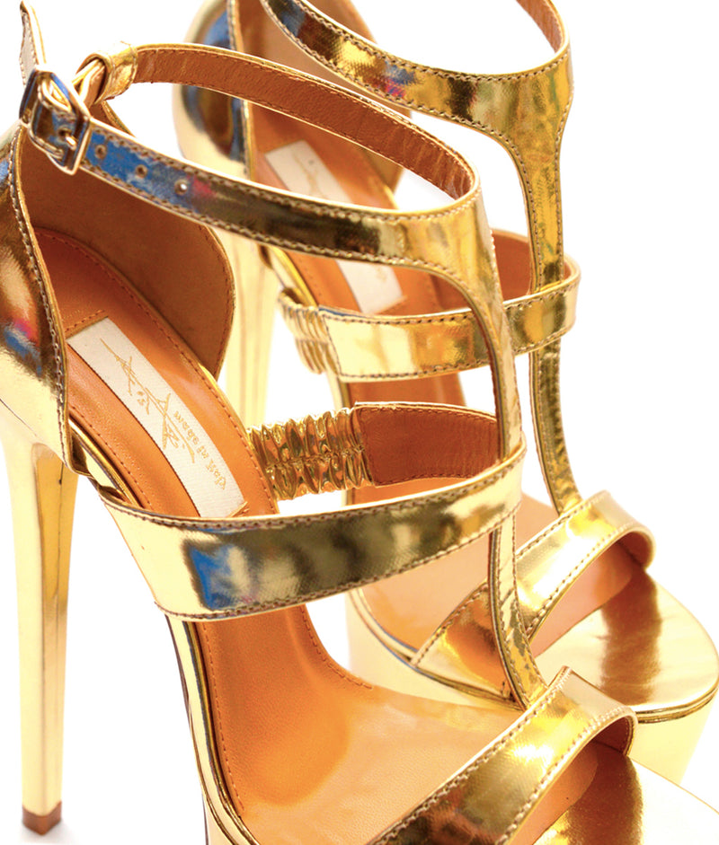 Solero Gold Patent · Charlotte Luxury Shoes · Luxury High Heel Sandals Shoes · Yarose Shulzhenko · Custom Made · Made to measure · Luxury High Heel Sandals · Shoes