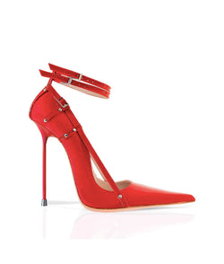 Traze Red Patent · Charlotte Luxury Shoes · Luxury High Heel Pointy · Di Marni · Custom made · Made to measure · Black Luxury Pointy High Heel Shoes · Stiletto Shoes
