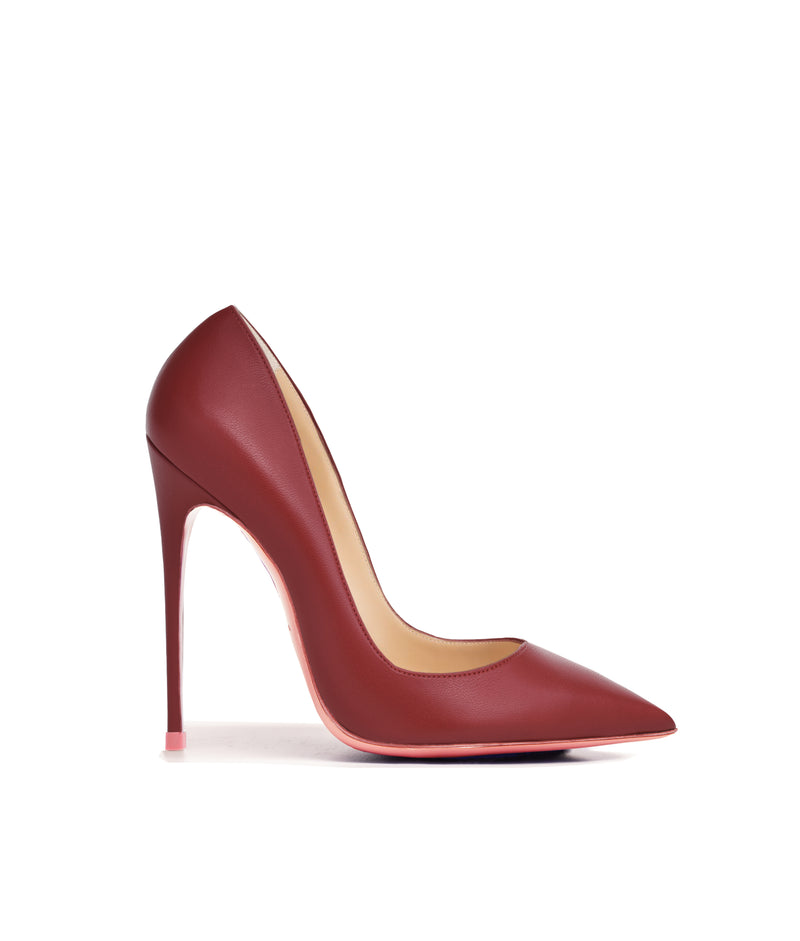 Adhara Burgundy  · Charlotte Luxury High Heels Shoes · Ada de Angela Shoes · High Heels Shoes · Luxury High Heels · Pumps · Stiletto · High Heels Stiletto