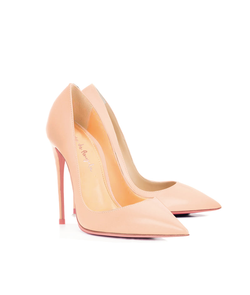 Adhara Nude  · Charlotte Luxury High Heels Shoes · Ada de Angela Shoes · High Heels Shoes · Luxury High Heels · Pumps · Stiletto · High Heels Stiletto