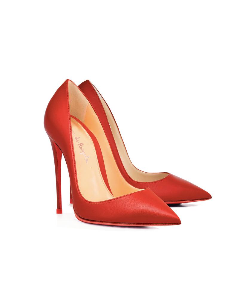 Adhara Red· Charlotte Luxury High Heels Shoes · Ada de Angela Shoes · High Heels Shoes · Luxury High Heels · Pumps · Stiletto · High Heels Stiletto