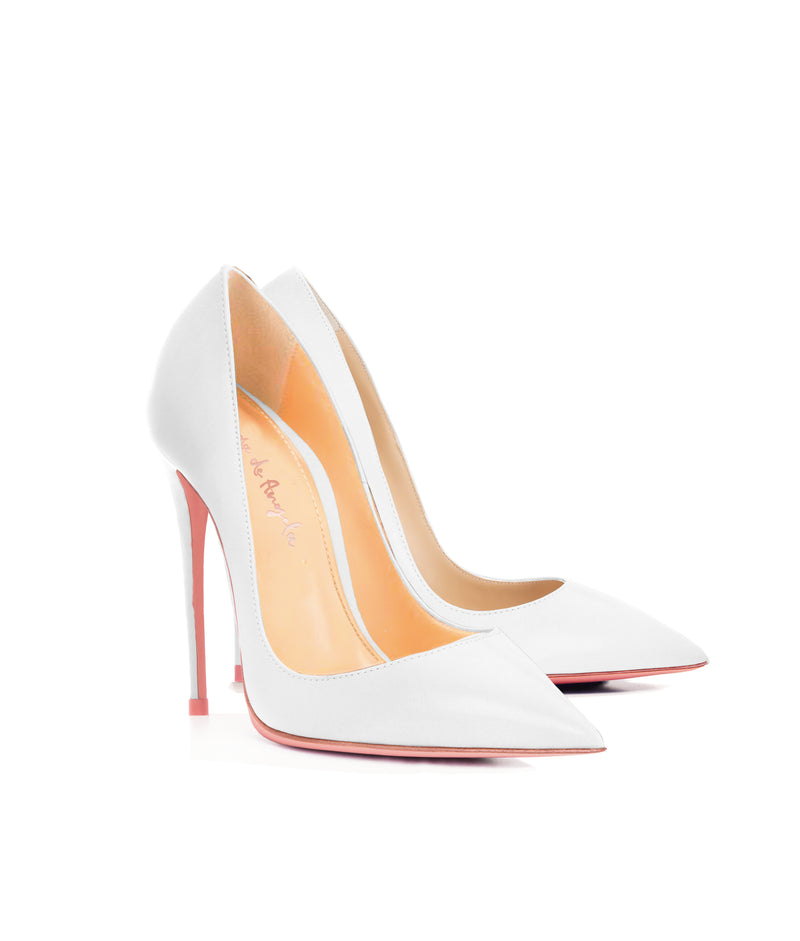 Adhara White  · Charlotte Luxury High Heels Shoes · Ada de Angela Shoes · High Heels Shoes · Luxury High Heels · Pumps · Stiletto · High Heels Stiletto
