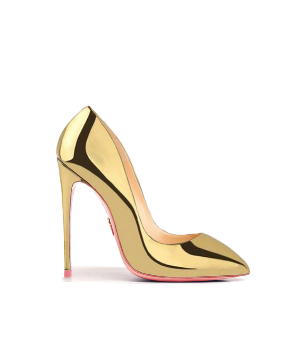 Alhena Gold Mirror · Charlotte Luxury High Heels Shoes · Ada de Angela Shoes · High Heels Shoes · Luxury High Heels · Patent Shoes · Stiletto · High Heels