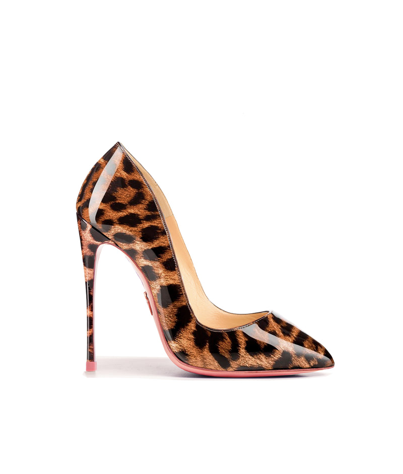 Alhena Leopard Safor Patent · Charlotte Luxury High Heels Shoes · Ada de Angela Shoes · High Heels Shoes · Luxury High Heels · Patent Shoes · Stiletto · High Heels