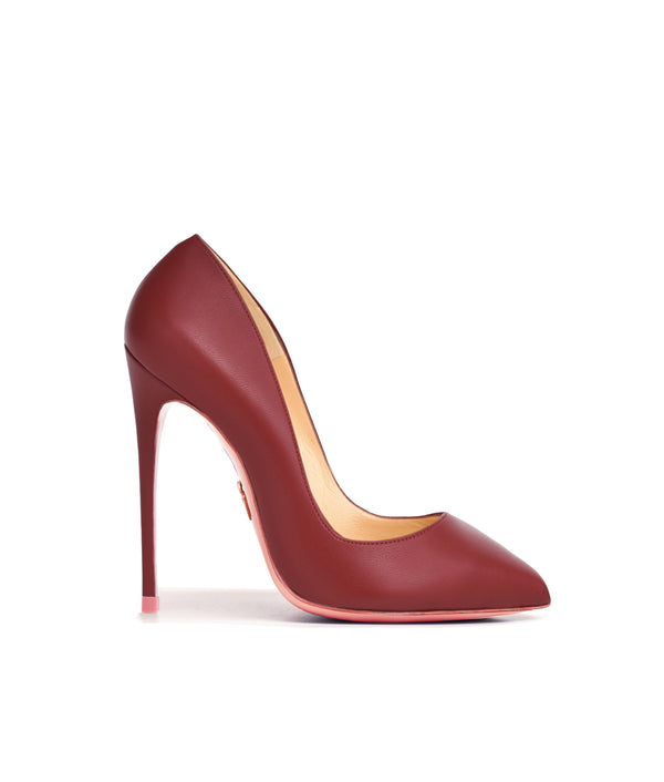 Alhena Maroon  · Charlotte Luxury High Heels Shoes · Ada de Angela Shoes · High Heels Shoes · Luxury High Heels · Pumps · Stiletto · High Heels Stiletto
