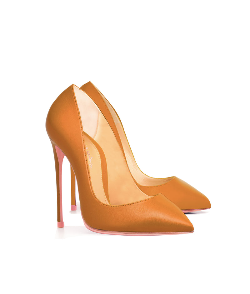 Alhena Mustard  · Charlotte Luxury High Heels Shoes · Ada de Angela Shoes · High Heels Shoes · Luxury High Heels · Pumps · Stiletto · High Heels Stiletto