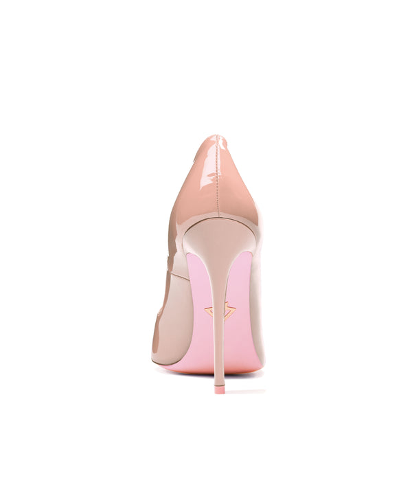 Alhena Nude Patent · Charlotte Luxury High Heels Shoes · Ada de Angela Shoes · High Heels Shoes · Luxury High Heels · Patent Shoes · Stiletto · High Heels