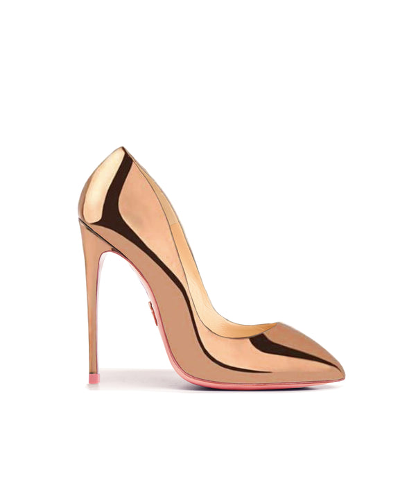 Alhena Rose Gold Mirror · Charlotte Luxury High Heels Shoes · Ada de Angela Shoes · High Heels Shoes · Luxury High Heels · Patent Shoes · Stiletto · High Heels