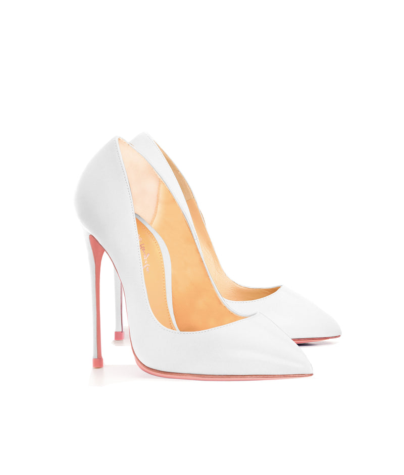 Alhena White · Charlotte Luxury High Heels Shoes · Ada de Angela Shoes · High Heels Shoes · Luxury High Heels · Pumps · Stiletto · High Heels Stiletto