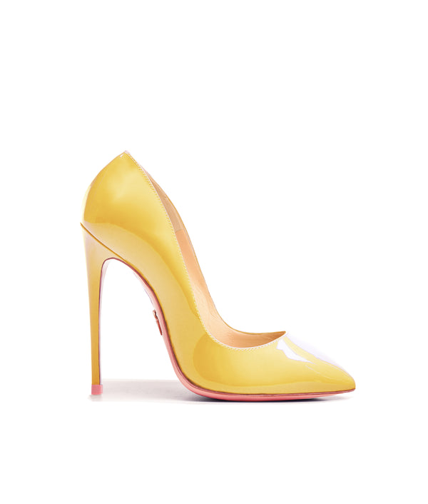 Alhena  Yellow  Patent · Charlotte Luxury High Heels Shoes · Ada de Angela Shoes · High Heels Shoes · Luxury High Heels · Patent Shoes · Stiletto · High Heels