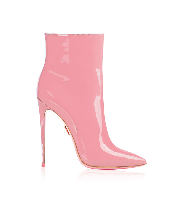 Denex Pink Patent  · Charlotte Luxury High Heels Boots · Ada de Angela Shoes · High Heels Boots · Luxury Boots · Knee High Boots · Stiletto · Leather Boots