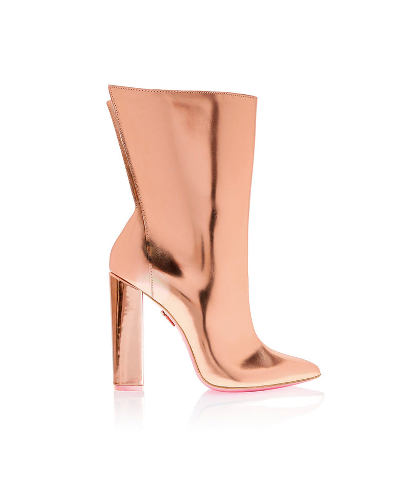 Meissa Rose Gold Mirror   · Charlotte Luxury High Heels Boots · Ada de Angela Shoes · High Heels Boots · Luxury Boots · Knee High Boots · Stiletto · Leather Boots