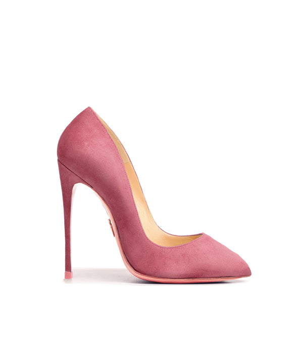 Alhena Pastel Pink Suede  · Charlotte Luxury High Heels Shoes · Ada de Angela Shoes · High Heels Shoes · Luxury High Heels · Patent Shoes · Stiletto · High Heels