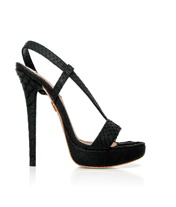 Siama Black Python · Charlotte Luxury Shoes · Luxury High Heel Sandals Shoes · Yarose Shulzhenko · Custom Made · Made to measure · Luxury High Heel Sandals · Shoes