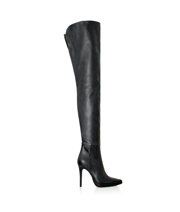 Titelo Black · Charlotte Luxury Boots · Luxury High Heel Thigh high Boots · Gio Hel · Custom Made · Made to measure · Luxury High Heel Thigh High Boots · Boots