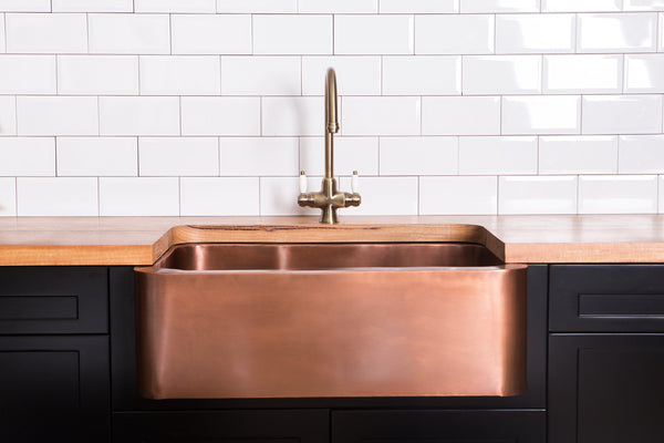 Copper Butler Sink - Large