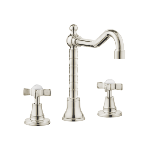 English Lever Tap - English Tap Spout - Cross Handles