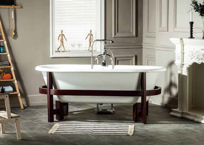 Cast Iron Cradle Bath