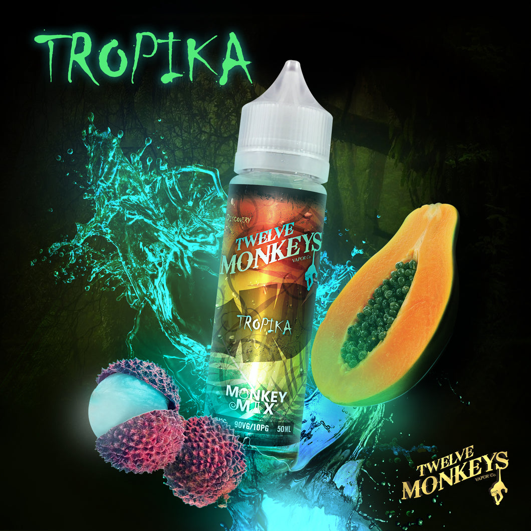 Tropika (fruit) by Twelve Monkeys - Trebbih Vape