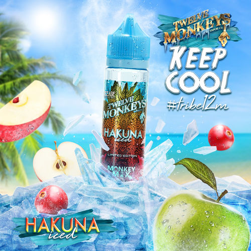 Hakuna Iced by Twelve Monkeys - Trebbih Vape