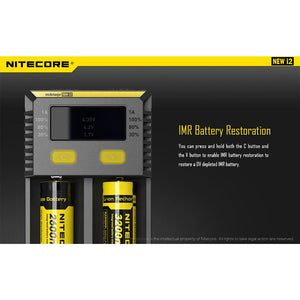 Nitecore Intellicharger i2 V2 - Trebbih Vape