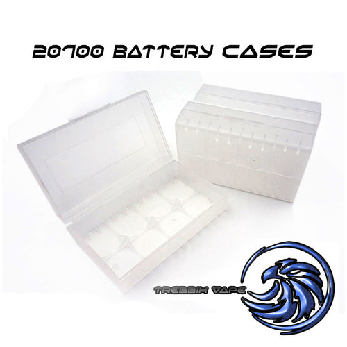 20/21700 Plastic Dual Battery Case - Trebbih Vape