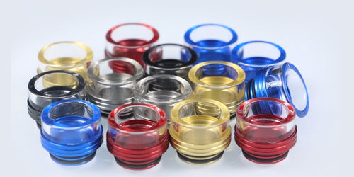 810 Wide Bore Glass Drip Tip - Trebbih Vape