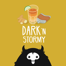 Load image into Gallery viewer, Dark 'n Stormy by Bunyip Vapes - Trebbih Vape