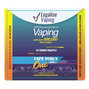 Vape Force One by Legalise Vaping Australia - Trebbih Vape