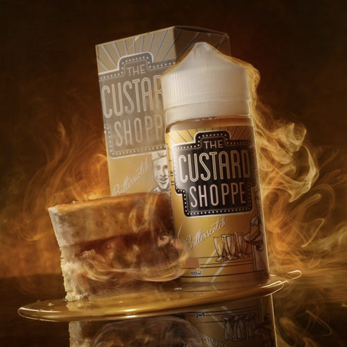Butterscotch by The Custard Shoppe - Trebbih Vape