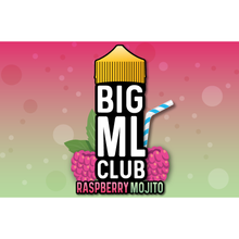 Load image into Gallery viewer, Raspberry Mojito by Big ML Club - Trebbih Vape