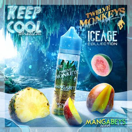 Mangabeys iced by Twelve Monkeys - Trebbih Vape